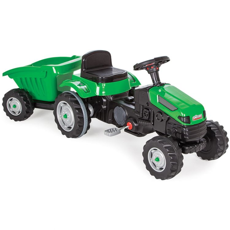 Pilsan - Pilsan Active Römorklu Traktör Yeşil
