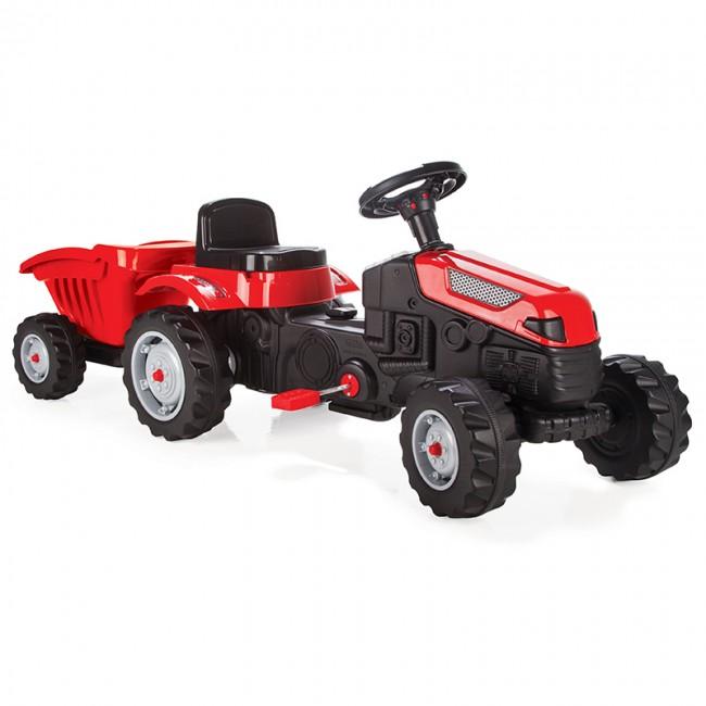 Pilsan - Pilsan Active Römorklu Traktör Kırmızı