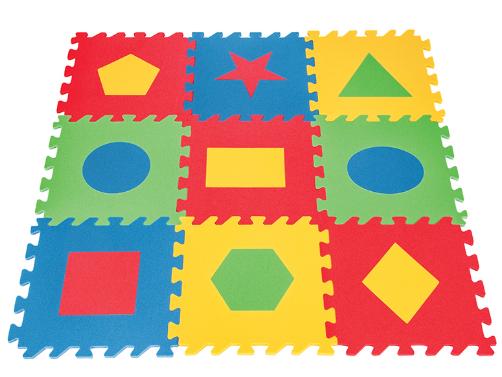 Pilsan - Pilsan Eğitici Yer Karosu Geometrik Şekiller