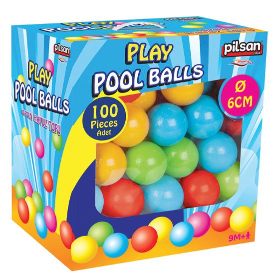 Pilsan - Pilsan Kutulu Oyun Havuz Topları