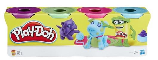 Play Doh - Play Doh 4'Lü Hamur