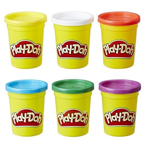 Play Doh - Play Doh 6'lı Oyun Hamuru