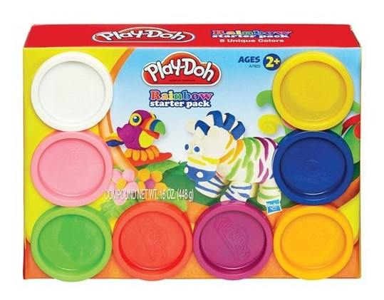 Play Doh - Play-Doh Gökkuşağı Seti