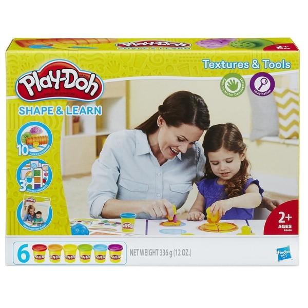 Play Doh - PlayDoh Oyun Hamuru Dokuları Öğreniyorum