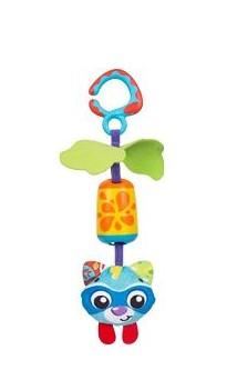 playgro - Playgro Asılabilir Çanlı Oyuncak Rakun
