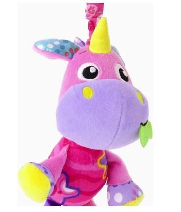playgro - Playgro Munchimal Peluş Aktivite Oyuncağı - Unicorn