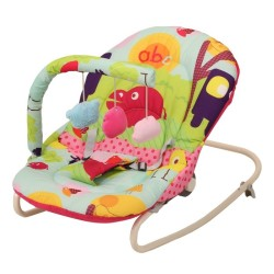 Pocket&Bounce - Pocket & Bounce Sallanan Ana Kucağı Pembe