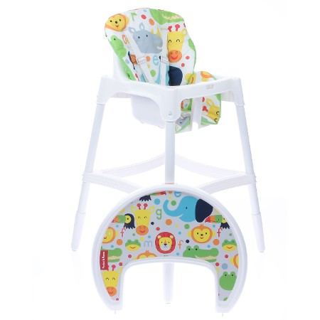 Pocket&Mama - Pocket Mama Sandalyesi Happy Animals Beyaz