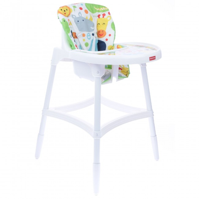 Pocket Mama Sandalyesi Happy Animals Beyaz - Thumbnail