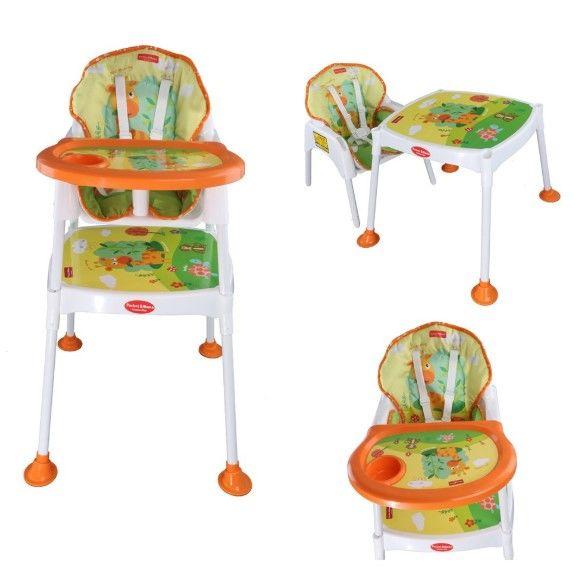 Pocket - Pocket & Mama - Çalışma Masalı Pedli Mama Sandalyesi
