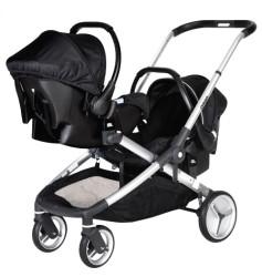 Prego - Prego 2072 İbiza Travel Set Bebek Arabası Siyah