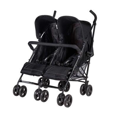 Prego - Prego 2074 Monart İkiz Bebek Arabası Siyah