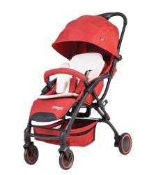 Prego - Prego 2085 Smart Fold Bebek Arabası - Kırmızı