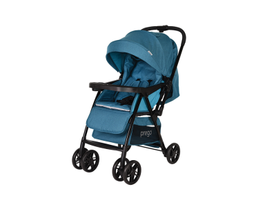 Prego - Prego 2095 Piccalo Bebek Arabası - Mavi