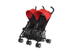 Prego - Prego Momentum İkiz Bebek Arabası - Kırmızı