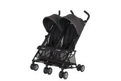 Prego - Prego Momentum İkiz Bebek Arabası - Siyah