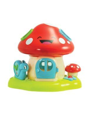 PregoToys - Prego Toys WD 3636 Mushroom Bricks Cabin