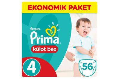 Prima - Prima Külot Bebek Bezi 4 Beden Maxi Jumbo Paket 56 Adet (2 adet)