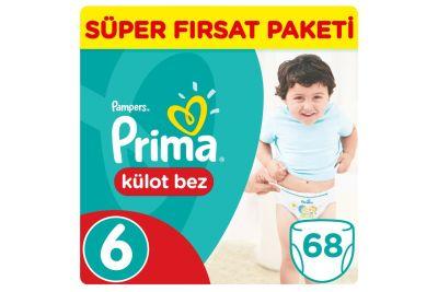 Prima - Prima Külot Bebek Bezi 6 Beden Ekstra Large Jumbo Paket 34 Adet (2 adet)