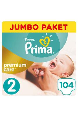 Prima - Prima Bebek Bezi Premium Care 2 Beden Mini Jumbo Paket 104 Adet