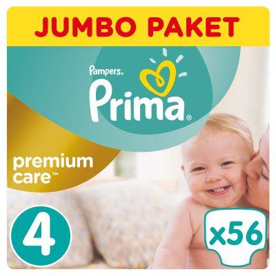 Prima - Prima Bebek Bezi Premium Care 4 Beden Maxi Jumbo Paket 56 Adet