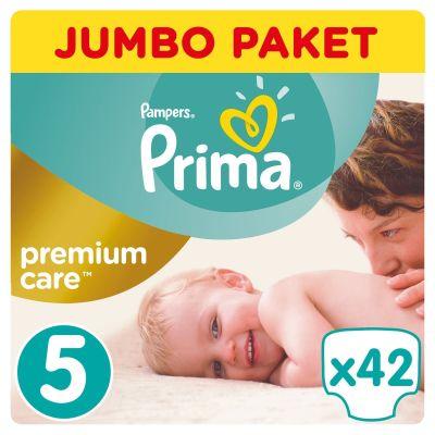 Prima - Prima Bebek Bezi Premium Care 5 Beden Junior Jumbo Paket 42 Adet