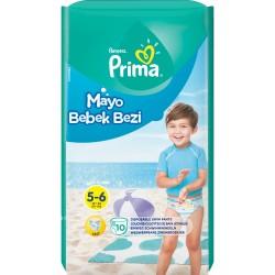 Prima - Prima Mayo Bebek Bezi 5 Beden Junior Tekli Paket 10 Adet