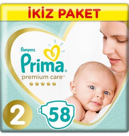 Prima - Prima Premium Care İkiz Paket 2 Beden Mini-58