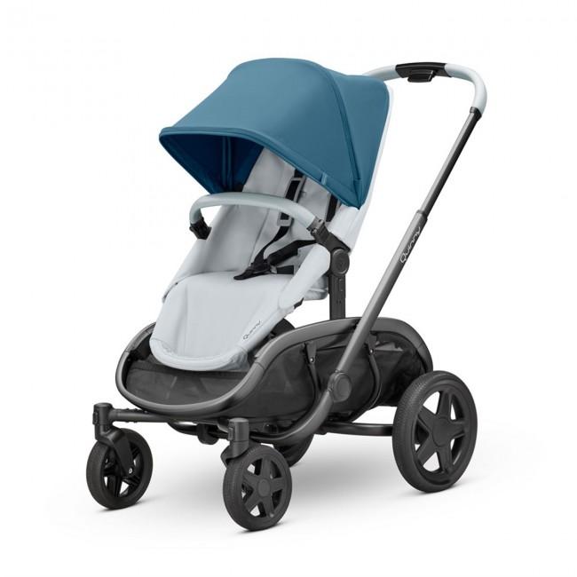 Quinny - Quinny Hubb Bebek Arabası / Blue Coral on Grey