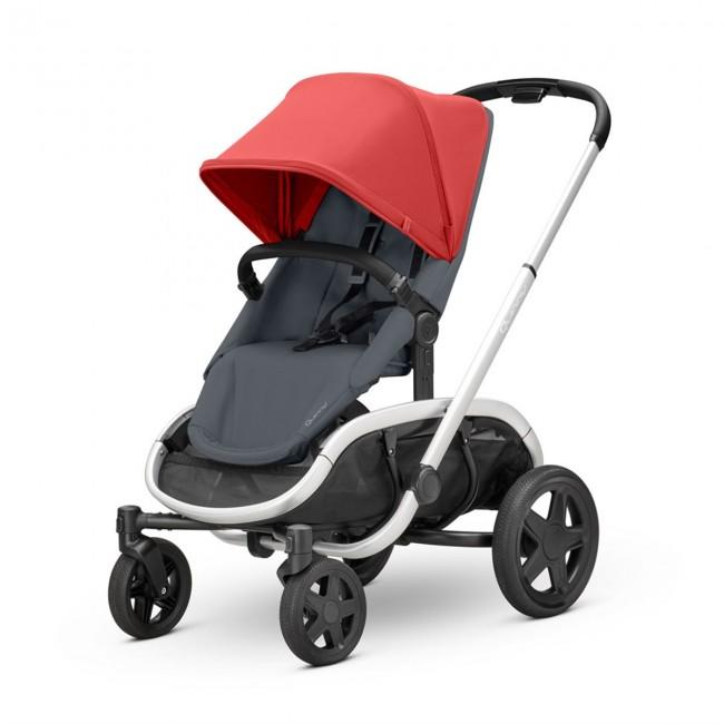 Quinny - Quinny Hubb Bebek Arabası / Red on Graphite