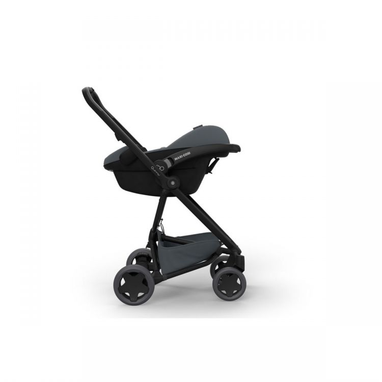 Quinny - Quinny Zapp Flex Plus Bebek Arabası / Black On Black