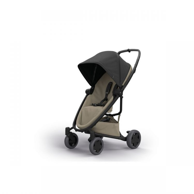 Quinny - Quinny Zapp Flex Plus Bebek Arabası / Black On Sand