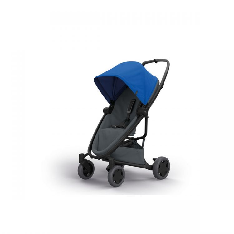 Quinny - Quinny Zapp Flex Plus Bebek Arabası / Blue On Graphite