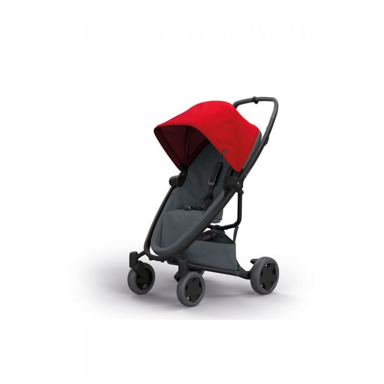 Quinny - Quinny Zapp Flex Plus Bebek Arabası / Red On Graphite