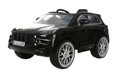 RollPlay - RollPlay W416QHG4 Porsche Macan Akülü Araba - Siyah