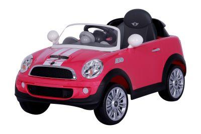 RollPlay - RollPlay W456QHT4 Mini Cooper Akülü Araba - Pembe