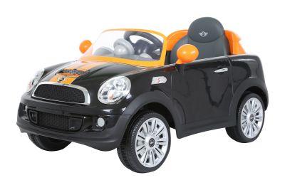 RollPlay - RollPlay W456QHT4 Mini Cooper Akülü Araba - Siyah