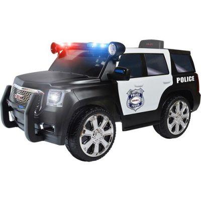 RollPlay - RollPlay W462QHG4 Police Car Akülü Araba - Siyah