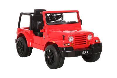 RollPlay - RollPlay W495NBQG4 XPV Generic Akülü Jeep - Kırmızı