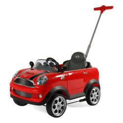 RollPlay - RollPlay ZW455EP Mini Cooper İlk Adım Araba - Kırmızı
