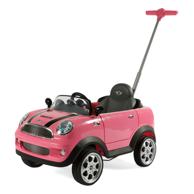 RollPlay - RollPlay ZW455EP Mini Cooper İlk Adım Araba - Pembe
