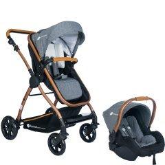 Safe Line - Safe Line Donna Travel Sistem Bebek Arabası Gri