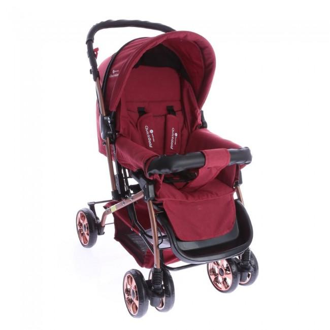 Safe Line - Safe Line Quickgold Çift Yönlü Bebek Arabası Kırmızı