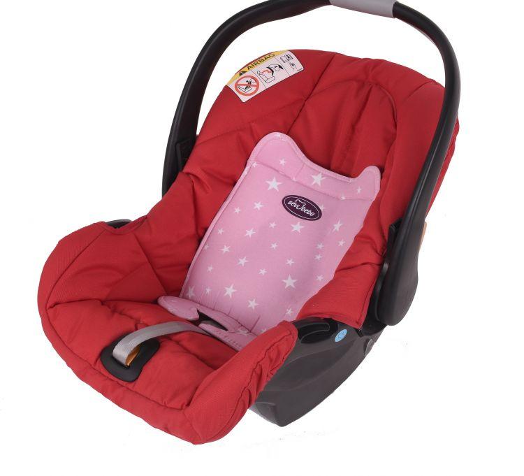 Sevi Bebe - Sevi Bebe Eko Ana Kucağı Bel Desteği - Pembe Yıldız