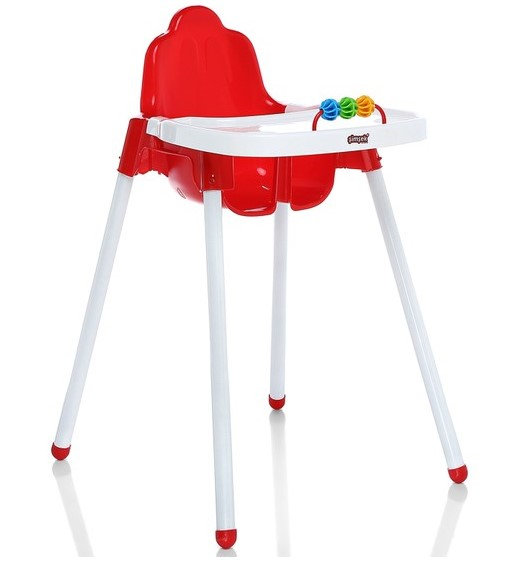 Şimşek Toys - Şimşek Mama Sandalyesi Kırmızı