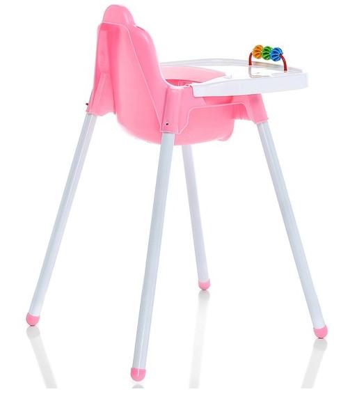 Şimşek Mama Sandalyesi Pembe - Thumbnail