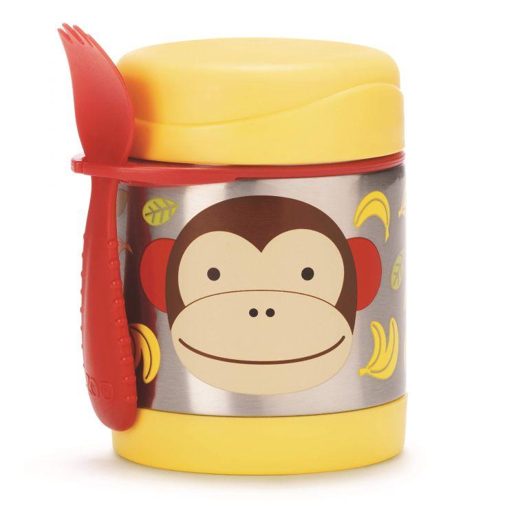 Skip Hop - Skip Hop Paslanmaz Çelik Termos Maymun