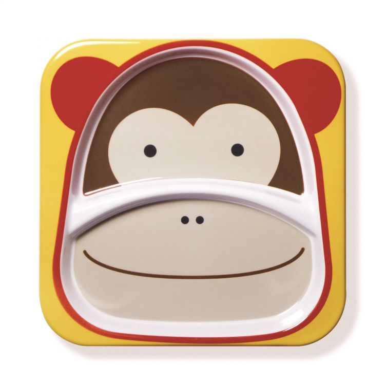 Skip Hop - Skip Hop Zoo 2 Bölmeli Tabak Maymun