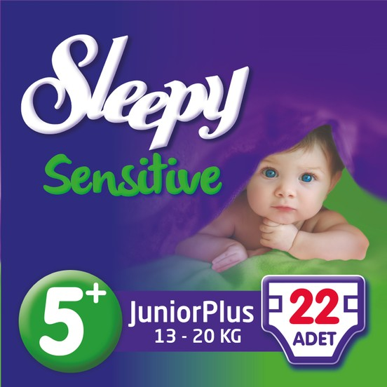 Sleepy - SLEEPY PEPEE JUNIOR PLUS 22 Adet