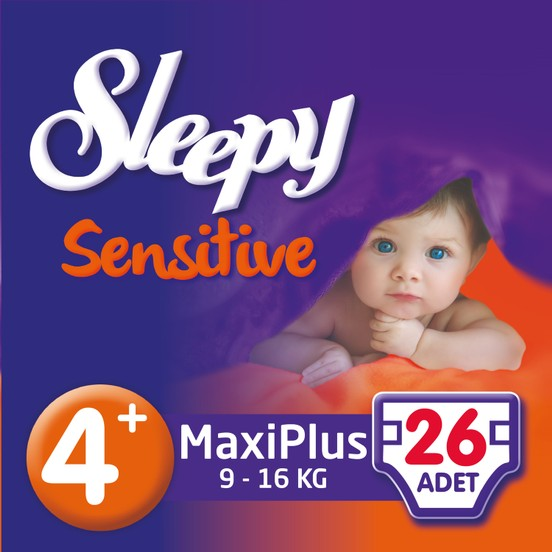 Sleepy - SLEEPY PEPEE MAXI PLUS 26 Adet